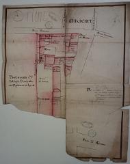 Eglise Saint-Pierre-des-Terreaux - Français:   Plan 2. 27 H 62: Fragments de plans des bâtiments, XVIIIe siècle.