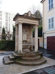 Fontaine du Taurobole - Français:   Fontaine du Taurobole.