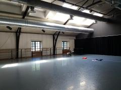 Immeuble dit Les Greniers d'Abondance, actuellement siège de la DRAC (Direction régionale des affaires culturelles) - Salle de l'école de de danse.