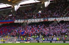 Stade municipal dit stade Gerland -  Lyon. OL - Valenciennes au stade Gerland.