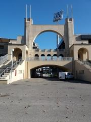 Stade municipal dit stade Gerland - Français:   Arche principale nord.