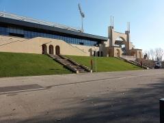 Stade municipal dit stade Gerland - Français:   Entrées principales, côté sud.