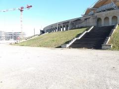 Stade municipal dit stade Gerland - Français:   Escaliers nord.