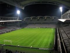 Stade municipal dit stade Gerland -  Stade de Gerland, Lion