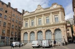 Ancienne Loge du Change, ancien Temple protestant - Polski: Lyon - Temple du Change