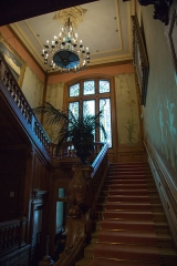 Maison dite Villa des Frères Lumière, actuellement Fondation nationale de la photographie - English: Institut Lumière - Stairway