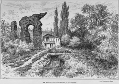 Aqueduc gallo-romain du Gier dit aussi du Mont Pilat (également sur communes de Brignais, Chaponost, Lyon, Sainte-Foy-lès Lyon, Soucieu-en-Jarrest) - French engraver and painter
