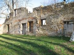 Château de Beauregard - Ruines du château de Beauregard à Saint-Genis-Laval dans le Rhône.