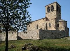 Chapelle Saint-Vincent - Français:   Chapelle Saint-Vincent de Saint-Laurent-d\'Agny,Rhône, France.