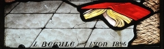 Eglise Saint-Symphorien - French painter, stained-glass artist and archaeologist