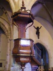 Eglise Saint-Symphorien -  La chaire