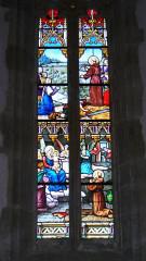 Eglise Saint-Symphorien -  Vitrail chapelle Saint Antoine