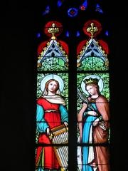 Eglise Saint-Symphorien -  Vitrail église de Saint-Symphorien-sur-Coise