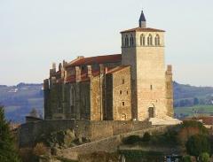 Eglise Saint-Symphorien -  Vue extérieure depuis le Nord-Ouest