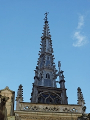 Eglise Notre-Dame-des-Marais - Français:   Depuis la rue Anne et Pierre de Beaujeu.