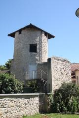 Tour et remparts - Français:   Tour Gayand, vestige de l\'ancien rempart de Villefranche-sur-Saône.