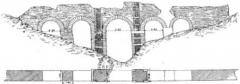 Pont-aqueduc dit le Pont des Granges (vestiges) - French archaeologist and teacher