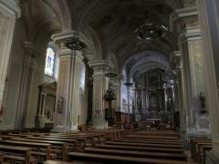 Eglise paroissiale - Français:   Église d\'Aime (Savoie, France)