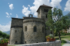 Basilique Saint-Martin - Français:   Basilique Saint-Martin d\'Aime, Savoie