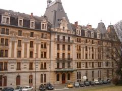 Hôtel Bernascon -  Ancien hotel-palace le Bernascon dans la commune d'Aix-les-Bains en France dans le département de la Savoie.