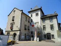Hôtel de ville (ancien château des Marquis d'Aix) - English: Mairie, Aix-les-Bains, France.
