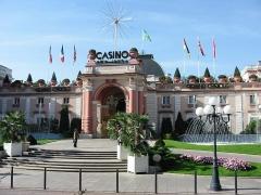 Palais du Casino dit du Grand Cercle, ancien Palais de Savoie -  The Grand Cercle casino of Aix-les-Bains in France.