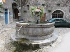 Fontaine - Français:   Conflans (Savoie)