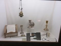 Petit Palais de Conflans - Français:   Musée d\'art et d\'histoire de Conflans: divers objets d\'art chrétien de l\'église de Conflans
