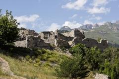 Forts de l'Esseillon : Fort Charles-Félix -  Fort Charles-Félix, Forts de l'Esseillon (Aussois - Savoie - France)