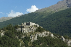 Forts de l'Esseillon : Fort Marie-Christine -  Fort Charles-Félix, Forts de l'Esseillon (Aussois - Savoie - France)