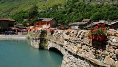 Vieux pont et pont de la Lame -  Bonneval-sur-Arc