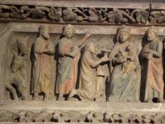 Ancien prieuré - Adoration des Mages (Jubé du Bourget du Lac)