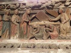 Ancien prieuré - Les Saintes Femmes au Tombeau du christ (Jubé du Bourget du Lac)