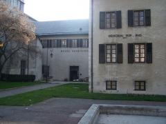 Archevêché -  The Savoisien museum, in Chambéry, capital of Savoie, France.