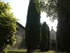 Eglise de Lemenc -  Chambery Eglise Saint-Pierre Lemenc Cimetiere Tombe Boigne