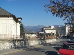 Hôtel-Dieu -  A part of the important hospital center of Chambéry, Savoie, France.