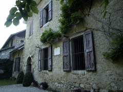 Maison des Charmettes - English: Les Charmettes building and museum of Chambéry (Savoie, France), where lived a couple of years the philosopher Jean-Jacques Rousseau in the 18th century.