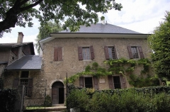 Maison des Charmettes -  The house where Jean-Jacques Rousseau lived with Mme de Warens in 1735-6. Now a museum dedicated to Rousseau. (I'll be posting some more of this place.) Musée de la ville de Chambéry en France dans le département de la Savoie. Les Charmettes qui fut la maison du philosophe Jean-Jacques Rousseau.