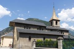 Eglise -  Collégiale Saint-Marcel de La Chambre / La Chambre / Savoie / France