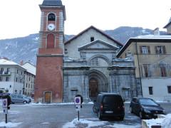 Cathédrale Saint-Pierre de Moûtiers - Français:   Moûtiers centre-ville