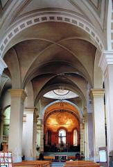 Cathédrale Saint-Pierre de Moûtiers - Français:   Moûtiers - Cathédrale Saint-Pierre - Nef