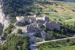Forts de l'Esseillon : Fort Victor-Emmanuel -  Fort Charles-Félix, Forts de l'Esseillon (Aussois - Savoie - France)