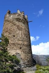 Tours de Montmayeur - Italiano: Andrea Vallet, mio scatto, Castello di Montmayeur