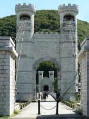 Pont suspendu de la Caille (également sur commune de Cruseilles) -  Beautiful Tower Bridge - Pont de la Caille