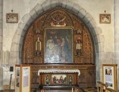 Cathédrale - Français:   Annecy, ville et préfecture du département de la Haute-Savoie (région Rhône-Alpes, France). Cathédrale Saint-Pierre. Toile La mort de St Joseph.
