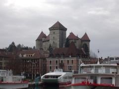 Château -  fr:Musée-château d'Annecy vu des jardins de l'Europe.  2004, Didier Halatre