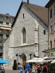 Eglise Saint-Maurice - Français:   Annecy, ville et préfecture du département de la Haute-Savoie (région Rhône-Alpes, France). Église Saint-Maurice, façade occidentale.
