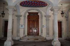 Palais épiscopal - Français:   Entrée intérieure du conservatoire à rayonnement régional d\'Annecy