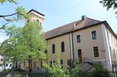 Palais épiscopal - Français:   Palais épiscopal et cathédrale Saint-Pierre d\'Annecy.