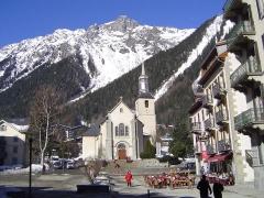 Eglise Saint-Michel -  Photo prises dans la commune de Chamonix-Mont-Blanc en France